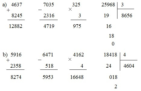 Ôn tập các số đến 100 000 (tiếp theo) - Toán lớp 4