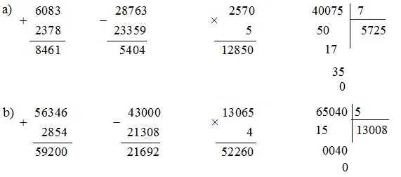 Ôn tập các số đến 100 000 (tiếp) - Toán lớp 4