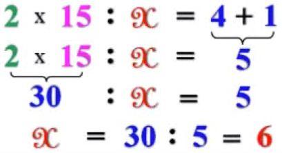 Cách giải các dạng toán tìm X - Toán lớp 3-13