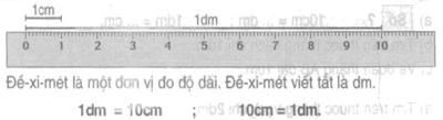Đề-xi-mét - Toán lớp 2