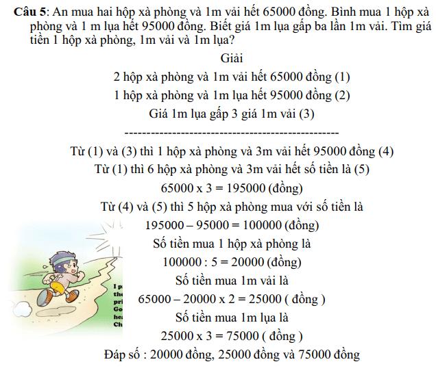 Phương pháp khử - Toán nâng cao lớp 5-4