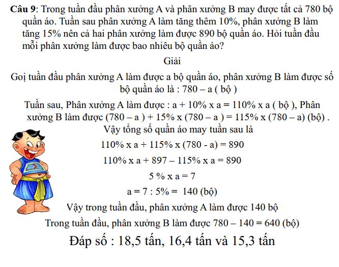 Phương pháp khử - Toán nâng cao lớp 5-8